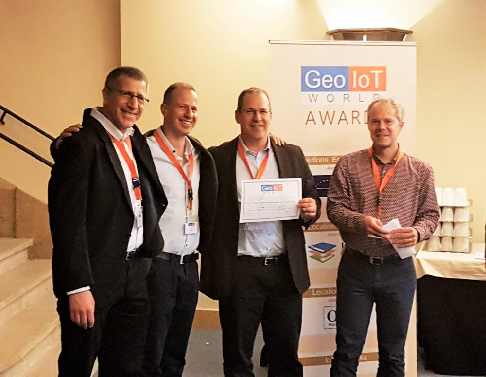 "Anagog Wins ""Geo IoT 2016 Award"" for Best Location Intelligence"