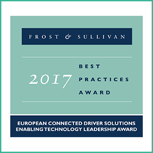 Anagog Wins Prestigious Frost & Sullivan's 2017 Enabling Technology Leadership Award