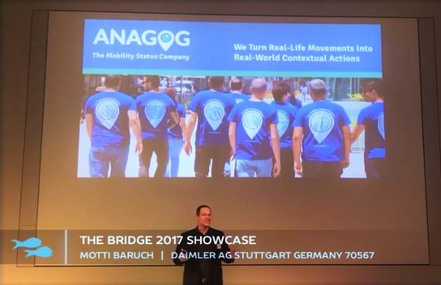 Introducing ANAGOG at 'The Bridge 2017' Showcase at Daimler