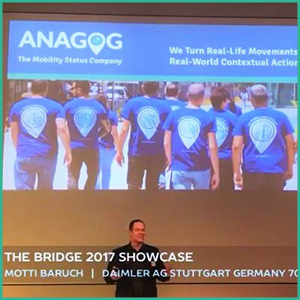 Introducing ANAGOG at 'The Bridge 2017' Showcase at Daimler