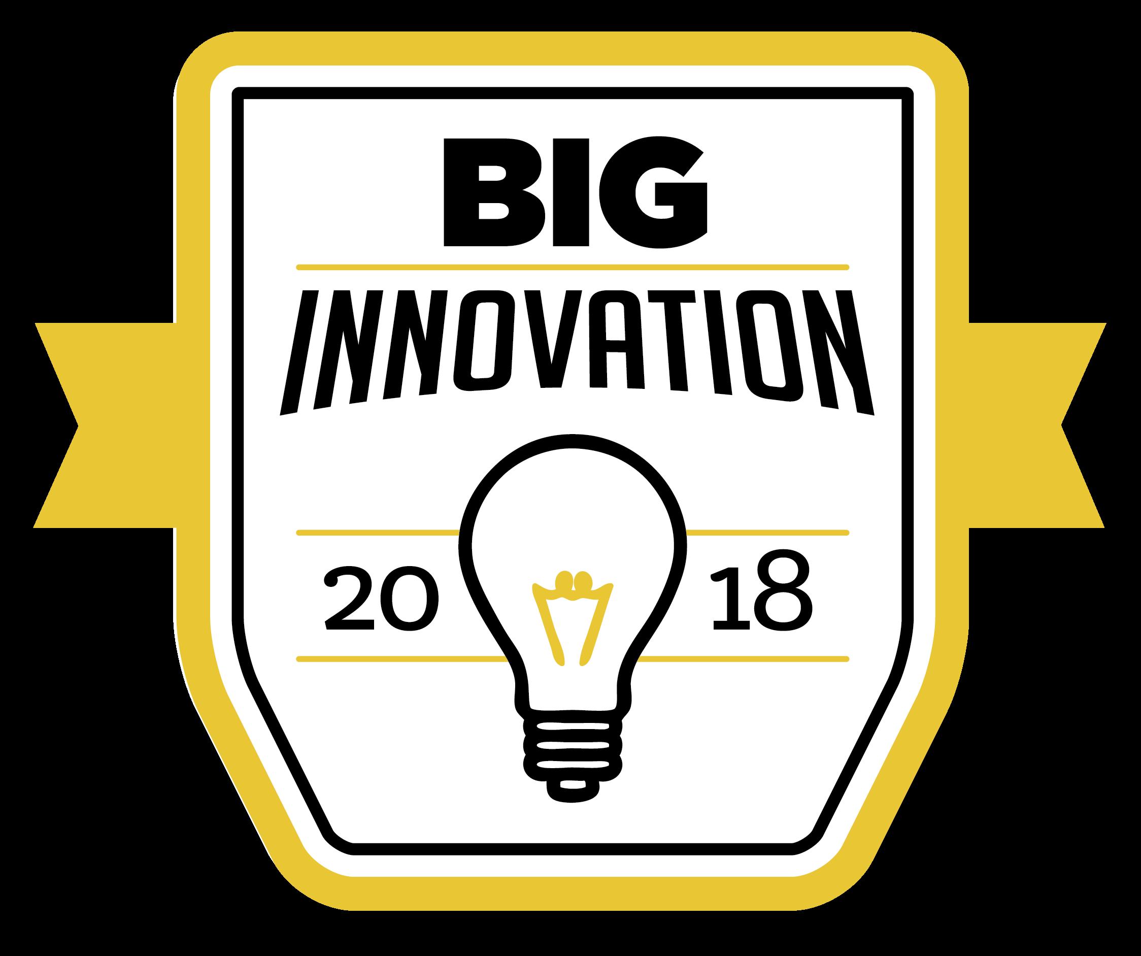 BIG Innovation Award 2018