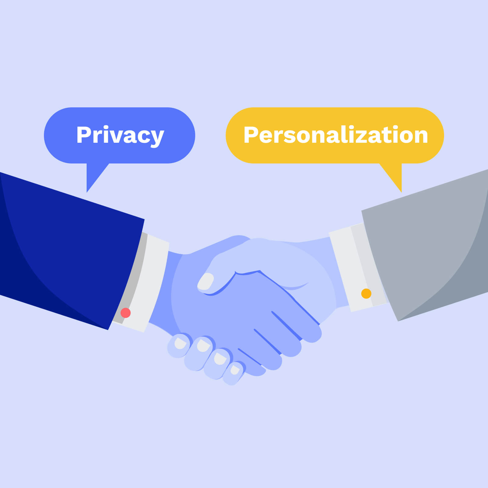 Personalization and Privacy Working Together